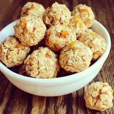 America's Nutrition Expert Cooks and Dishes | Mitzi Dulan's Blog » Honey Peanut Butter Protein Energy Balls