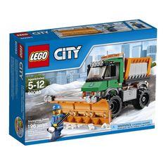 Het sneeuwt hevig in LEGO® City dus de sneeuwruimdienst krijgt een paar drukke dagen voor de boeg! Kruip achter het stuur van de sterke sneeuwtruck, stel het grote schuifblad in voor maximaal effect, start de zoutstrooier en maak de wegen van de stad sneeuwvrij! Inclusief bestuurder-minifiguur met diverse accessoires.   http://www.planethappy.nl/lego-city-sneeuwtruck-60083.html