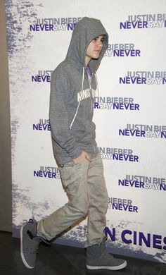 Justin Bieber attends a photocall for the film, 'Justin Bieber: Never Say Never' at Palacio de los Deportes Stadium on April 5, 2011 in Madrid, Spain.