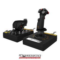 Saitek-Pro-Flight-X-55-X55-Flight-Simulator-Rhino-HOTAS-System-PC-Aussie-Warr