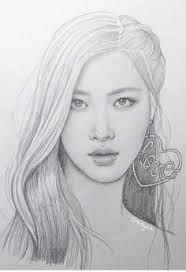 Pin By May Tin On Best Kpop Idols Pink Drawing Kpop Drawings Rose Drawing