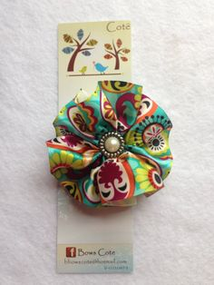 Hairclip  Newborn baby girl little girl  by BowsCote on Etsy, $3.00