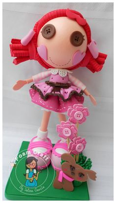 toffee cocoa cuddles lalaloopsy foam doll