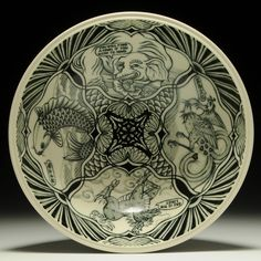 You Will Find a Song Bowl by Yoko Sekino-Bove at charliecummingsgallery  by charliecummingsgallery