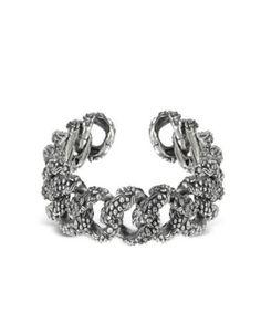 Ugo Cacciatori Sterling Silver Bush Chain Bracelet #accessories #women #covetme #ugocacciatori