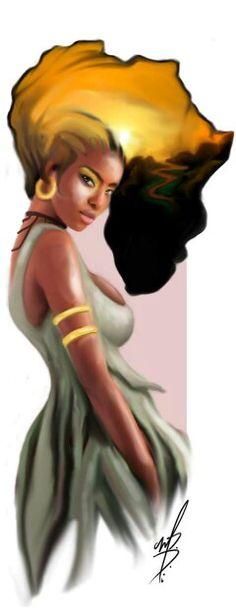 Beauty from Africa, just like shea used in TerraNova Shea Blossom