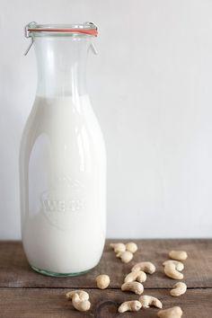 Homemade cashew milk that tastes better than the real stuff