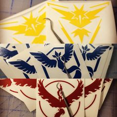 All #pokemongo and other decals have new reduced prices. Check it!