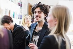 France Viler Goran Viler e l'arte di Ivana Burello - 1° evento - 21 novembre 2014 - Trieste #hair #livepainting #art http://www.goranviler.com