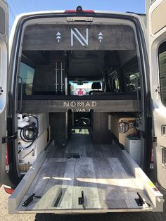 Get a bike garage in your van life diy life diy how to build life diy ideas life diy interiors life diy projects Sprinter Camper, Car Camper, Camper Life, Petit Camping Car, Truck Camping, Van Camping, Custom Camper Vans, Custom Vans, Custom Bikes