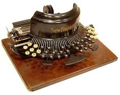 Crazy typewriter.
