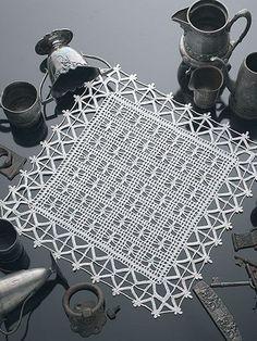 Crochet - Doily Patterns - Assorted Patterns - Gothic Lattice