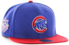 Chicago Cubs Sure Shot Wool Adjustable Snapback  #ChicagoCubs #Cubs #FlyTheW