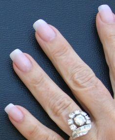 natural looking squoval artificial nails   acrylic nails that look natural