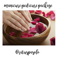 Manicure Pedicure Package . . Add touch of glam to your hands & feets with our pampering mani pedi treatments. Cuticles are soaked and softened then gently buffed and nail shaped. Next a relaxing hand and arm massage to increase circulation and promote glowing hydrated skin. Your nails and then treated to an application of the perfect shade of polish  . . 150' minutes . .  Spa Rumah Batu More info please call us   0271 623 443  085701383835 (wa only)  #spa #nature #travel #traveloka #trips…