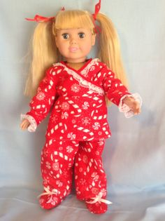American Girl doll or any 18 inch doll. 3 by CuteAsPieCreations