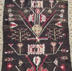 For Sale on - Like many Bessarabian kilims, this runner shows a synthesis of local folk motifs and designs inspired by century French carpets popular at the Russian Kilim Runner, Rugs On Carpet, Carpets, Runes, 18th Century, Bohemian Rug, Weaving, Abstract, Antiques