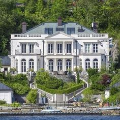 Incredible waterfront home.