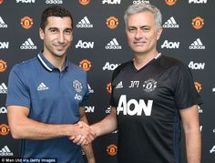 A real team player with great skill, vision and a good eye for goal': Mourinho hails the arrival of £26m Mkhitaryan to rev up United