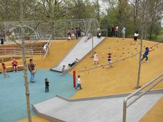 Woodland Discovery Playground at Shelby Farms Park | James Corner Field Operations « World Landscape Architecture – landscape architecture webzine