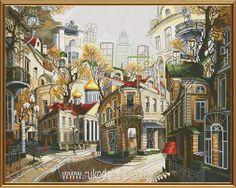 Набор для вышивания нитками Новая Слобода Сказки старого Арбата РЕ2333