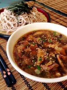 Pork Green Onion Soba Noodle つけ麺★ねぎ豚そば
