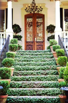 Outdoor stairs ideas entrance curb appeal 22 Ideas for 2019 Pot Jardin, Garden Design, House Design, Backyard, Patio, Stairway To Heaven, Stairways, My Dream Home, Curb Appeal