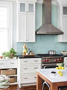 küchenrückwand plexiglas fliesenspiegel