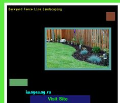 Backyard Fence Line Landscaping 172129 - The Best Image Search