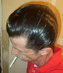 Slick Hairstyles, Classic Hairstyles, Hair Tonic, Hair Pomade, Slicked Back Hair, Pompadour, Grease, Hair Styles, Highlights