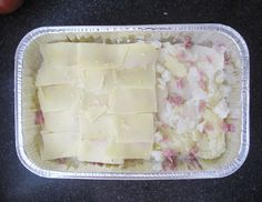 Recipe for an easy 4 ingredient Potato bake GF, great for parties, a BBQ or family dinners