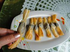 Mari Recetas : Caramelos de morcilla de burgos en pasta filo