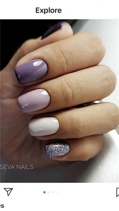 """If you want beautiful and classy nails, you don't have to repeat """"classics"""" from the past. To be a classy pioneer of nail art, it is essential to come into contact with new ideas or designs.[Read the Rest] → Classy Nails, Stylish Nails, Fancy Nails, Trendy Nails, Cute Nails, Cute Acrylic Nails, Acrylic Nail Designs, Square Acrylic Nails, Hair And Nails"""