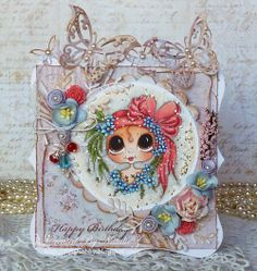 Darling and beautiful card by Designer Natalie.