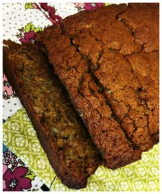 Banana bread is my most favourite way of using up bananas that have gone a bit mushy – rather than throw them away.   This dairy free recipe uses coconut oil! Mmm