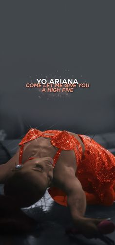 Ariana Grande Cover, Ariana Grande Quotes, Ariana Grande Background, Ariana Grande Lyrics, Ariana Grande Wallpaper, High Five, Song Quotes, Aesthetic Videos, Woman Crush