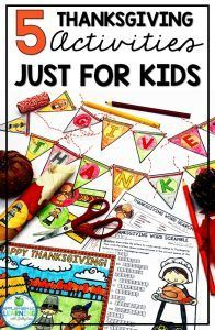 Engage your students with these five Thanksgiving activities for kids. Your students will love the puzzles and activities as they prepare for Thanskgiving. Thanksgiving Writing, Thanksgiving Activities For Kids, Thanksgiving Crafts, Creative Teaching, Teaching Ideas, Teaching Resources, Teaching Tools, Social Studies Curriculum, Reading Lessons