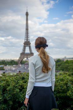 Gal Meets Glam Eiffel Tower Views