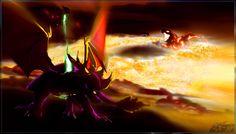 The Legend of Spyro - Spyro, Cynder, and the Golem