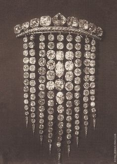 Empress Eugenie's Diamond Haircomb, 1885.