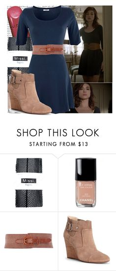 """""""Allison Argent-The Girl Who Knew Too Much"""" by elenadobrev90 ❤ liked on Polyvore featuring Episode, Chanel, Dorothy Perkins and Sole Society"""