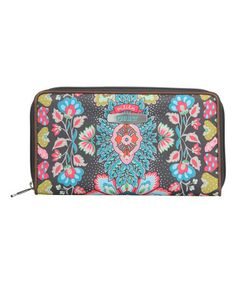 Another great find on #zulily! Charcoal Travel Organizer Wallet #zulilyfinds