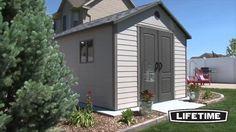 Hillcrest Lifetime Sheds - 6415 11 X Foot Outdoor Storage Shed