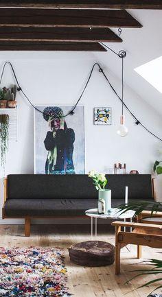 Poppytalk: Dispatch from Scandinavia | A Modern Apartment in Denmark