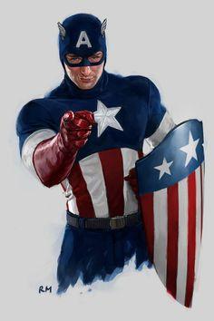 Ryan Meinerding's USO Show artwork for Captain America The First Avenger