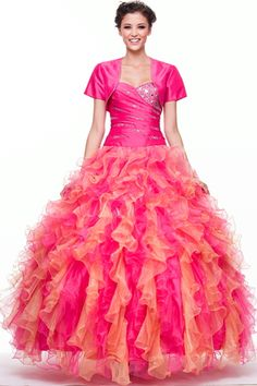 Quinceaneras Dresses<BR>Debutante Balls<BR>Cotillions<BR>ajt306<BR>Explosive Presentation!