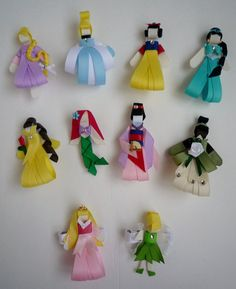 Disney Princess Ribbon Sculpture Hair Clips