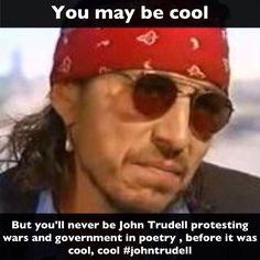 John trudell #native #john trudell
