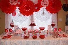 Valentine Party/Table Decor