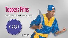 Toppers Prins - 1001 nacht kostuum voor de man
